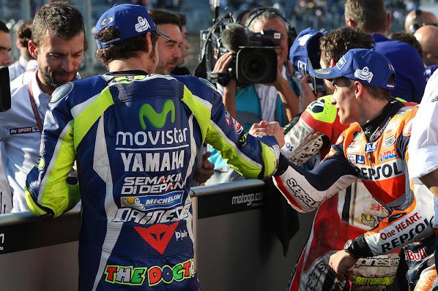 berita motogp Marquez : Saya tenang, Rossi gugup