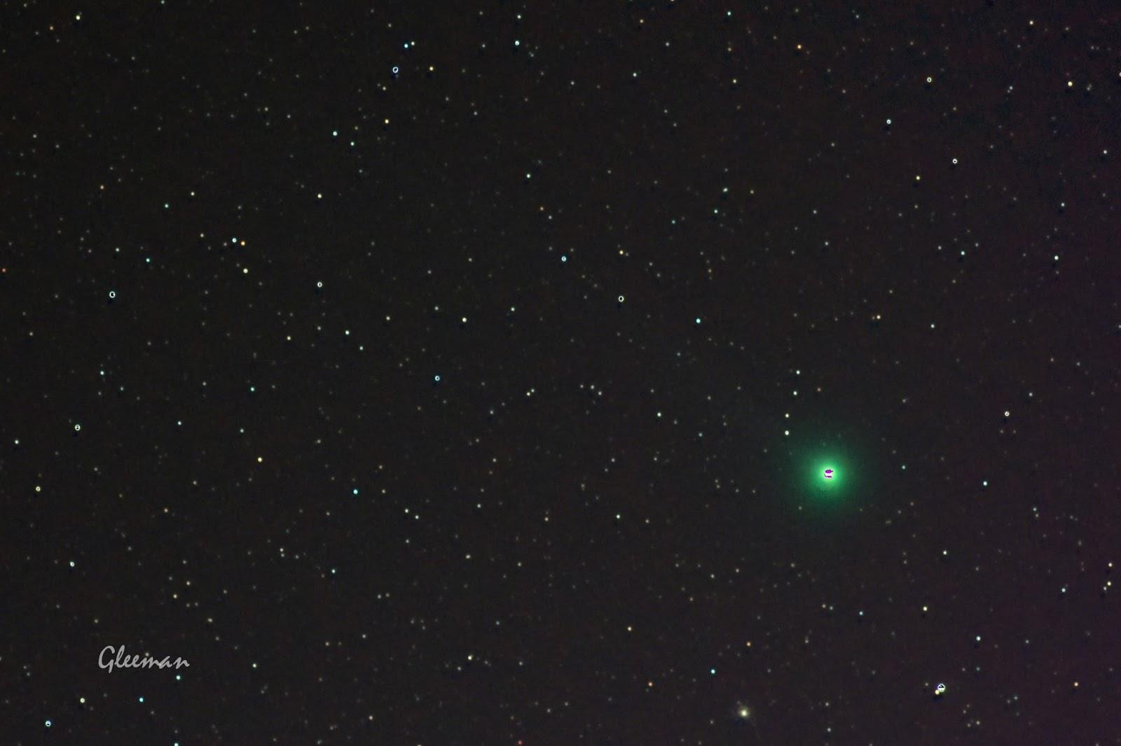 DSS中彗星疊圖第三種模式(星點與彗星皆清晰的模式),個人疊完圖後會遇到存檔問題
