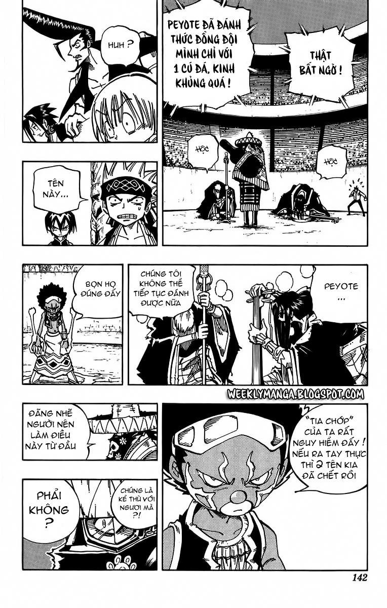 Shaman King [Vua pháp thuật] chap 114 trang 15