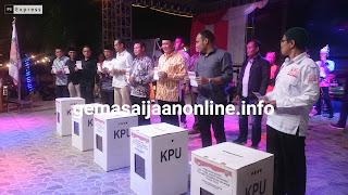 KPU Kotabaru Launching Pemilihan Serentak Bupati dan Wakil Bupati
