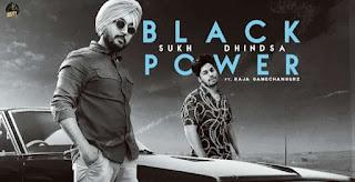 ब्लैक पावर Black Power Lyrics in Hindi - Sukh Dhindsa