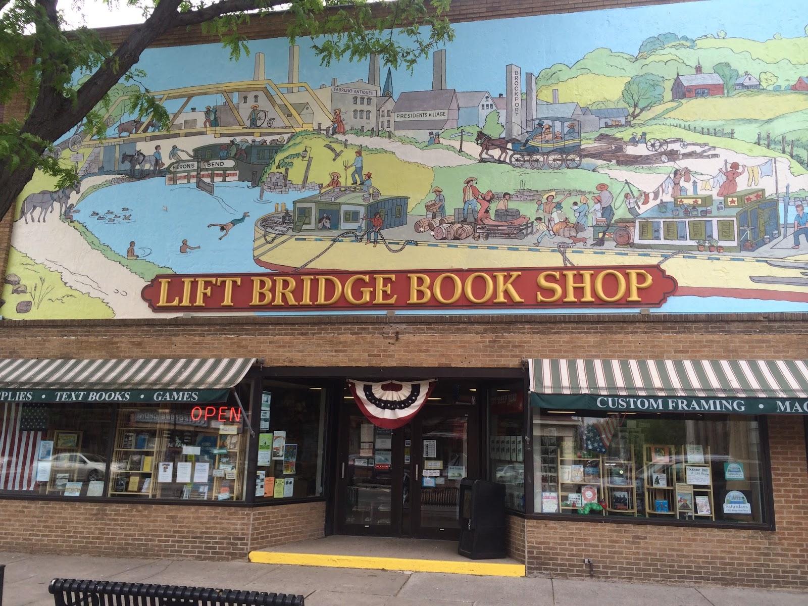 The Indie Bob Spot: Lift Bridge Book Shop - Brockport, NY