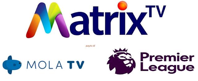 Paket Liga Inggris Mola TV Parabola