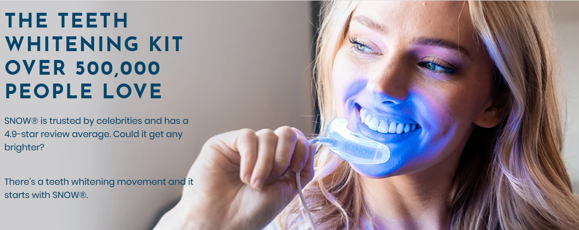 Snow Teeth Whitening - RevShare