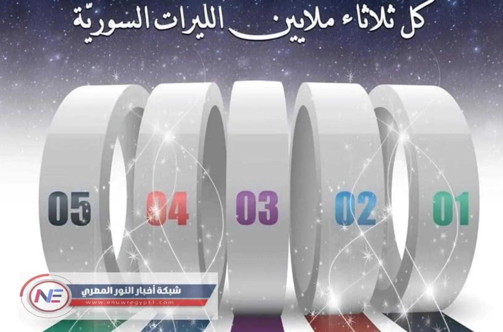 الإصدار الاخير | نتائج يانصيب معرض دمشق الدولي | ظهرت حالا اليوم الثلاثاء 02-03-2021 اسماء الفائزين حسب ارقام البطاقات www.diflottery.com.sy | الإصدار الدورى  رقم 8 لعام 2021