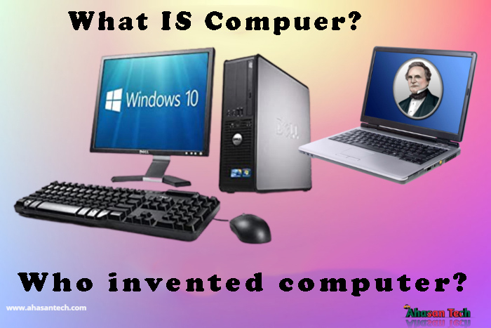 Who invented computer?