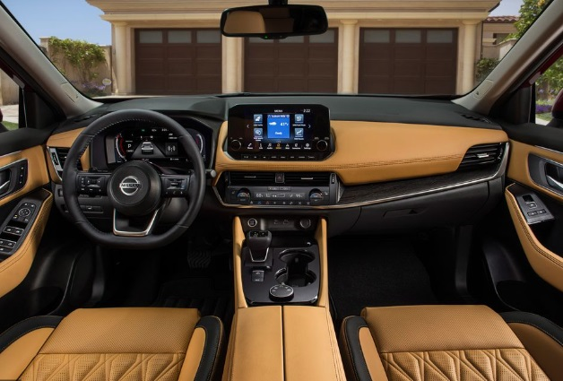 Dashboard Mobil Nissan Rouge