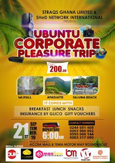 UBUNTU  CORPORATE  PLEASURE  TRIP (Read Details -Event)