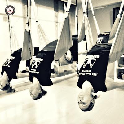 yoga aéreo España