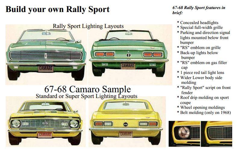 Steve's Camaro Parts: 1967 - 1969 Camaro Parts - First