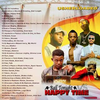 Download Mixtape: Dj home boy Ball tonight vs happy time