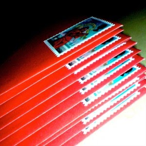 mailing christmas cards
