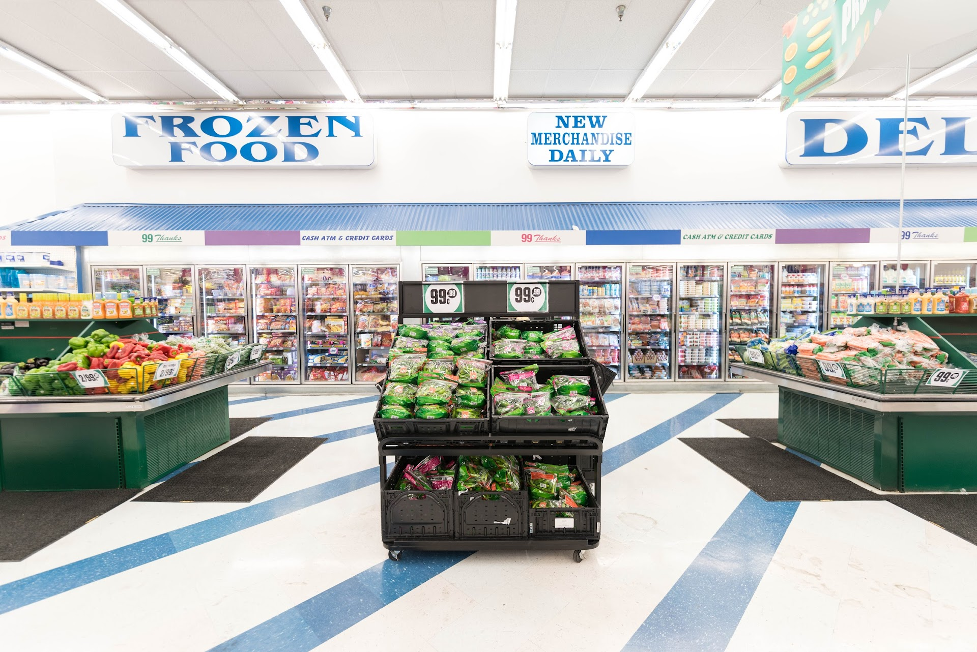 99 cent store, fresh produce, review, california grocery stores