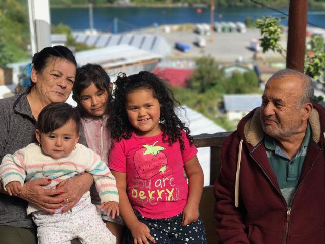 Amanda Restrepo y bisabuelos