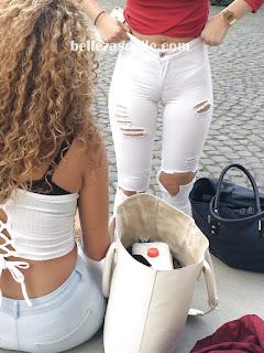 Chicas lindas captadas lugares publicos