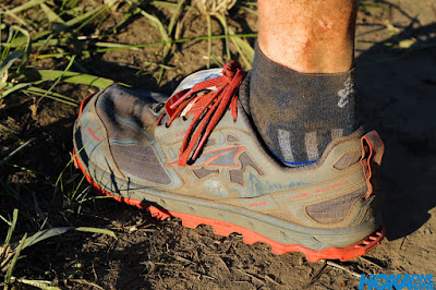 Balega Enduro socks in Altra Running Lone Peak 4's on the Addo Elephant Trail Run 2019
