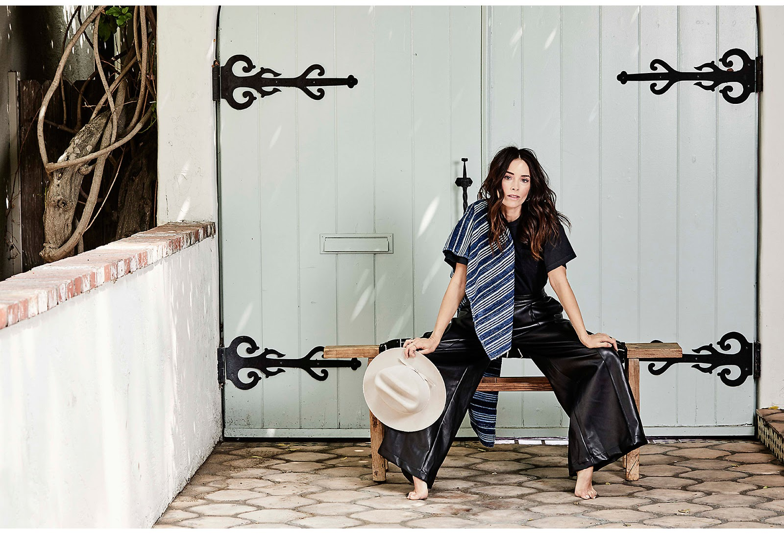 The Los Angeles home of actress Abigail Spencer
