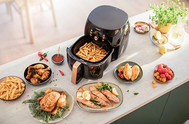 Cook Healthy & Tasty Dishes Like A Chef, Philips Airfryer XXL, Smart Sensing technology, Kitchen Appliances, Healthy Cooking, Philips, Lifestyle