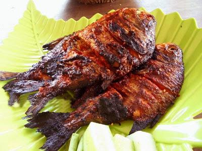 Resep Ikan Bakar Bumbu Kecap Pedas