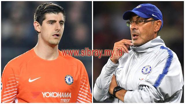 Thibaut Courtois Disebut Telah Menemui Maurizio Sarri Agar Dirinya Segera Dijual dari Chelsea