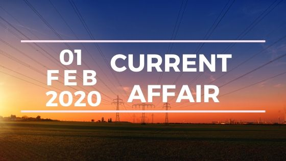 Current Affair 1 february 2020