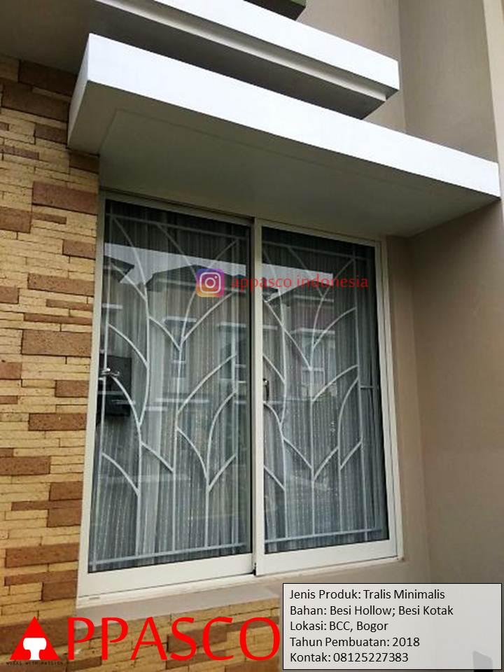 Teralis Minimalis Besi Hollow dan Kotak di BCC Bogor