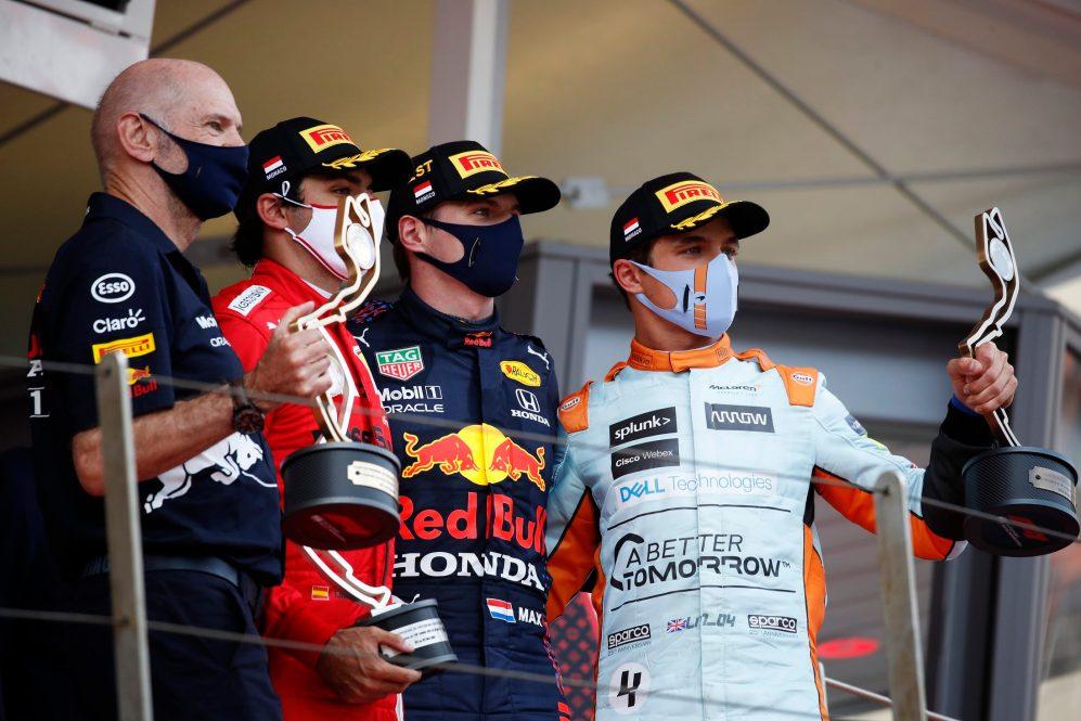 Verstappen está almejando seu primeiro pódio em Baku depois de ... seu primeiro pódio em Mônaco