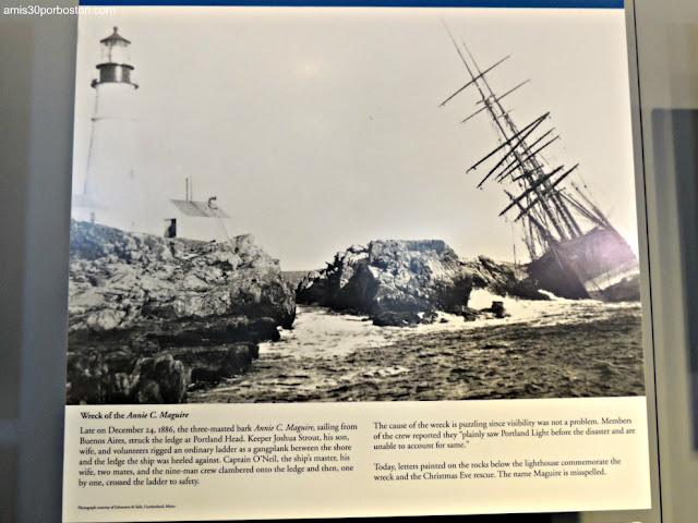 Foto del Annie C. Maguire en el Museo del Faro