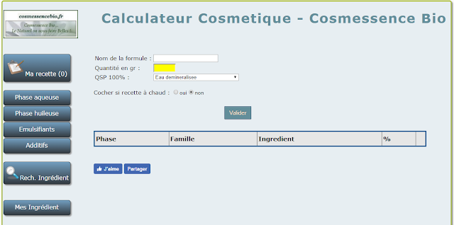 www.calculateur-cosmetique.cosmessencebio.fr