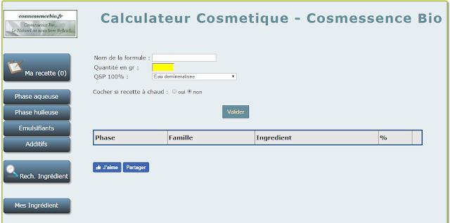 www.calculateur-cosmetique.cosmessencebio.fr