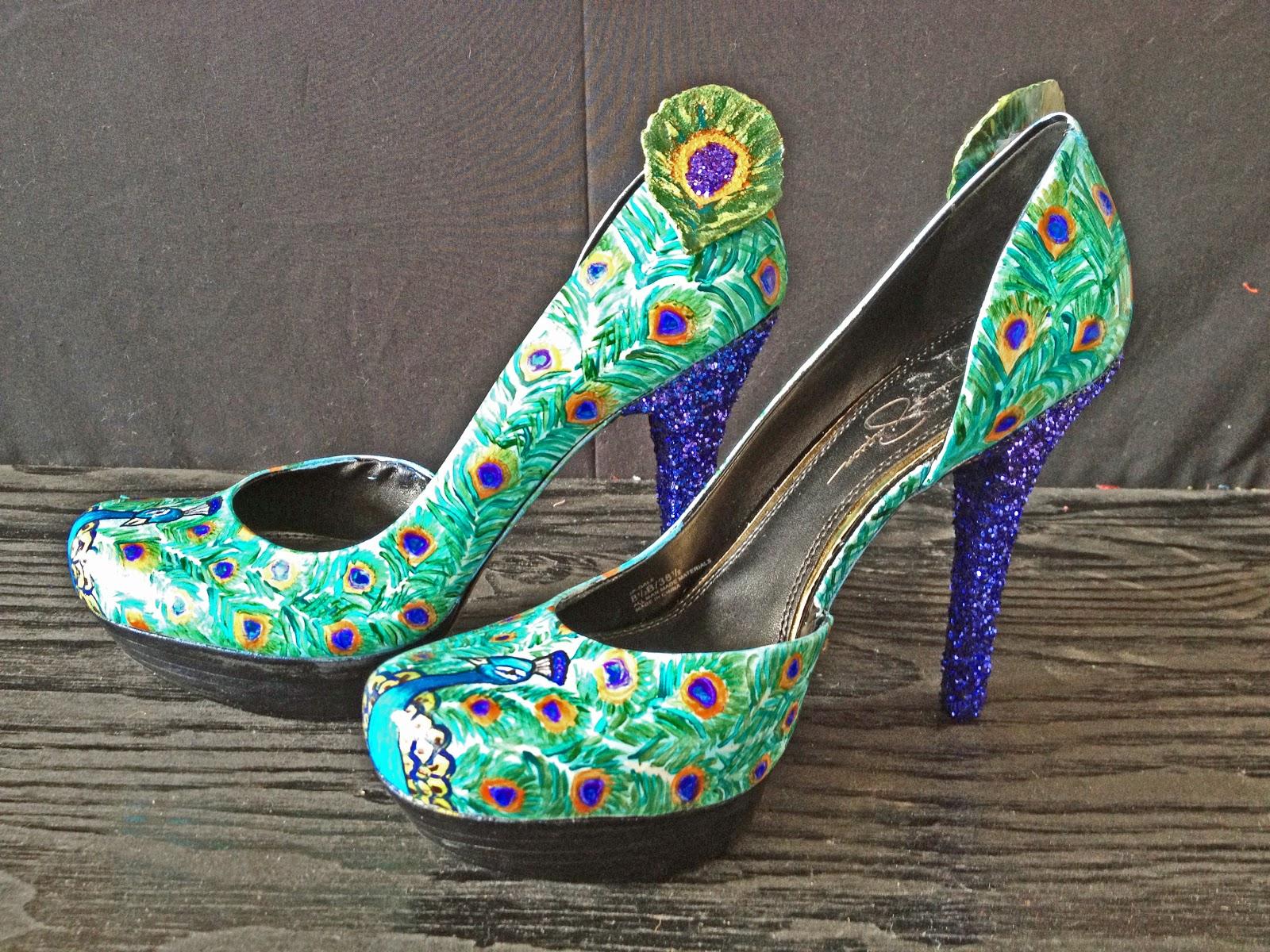 kick off your heels: Kick Off Your Heels with Peacock High ...