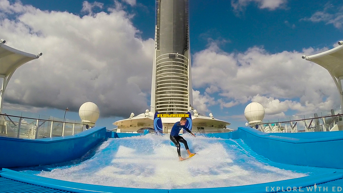 Flowrider on Explorer of the Seas