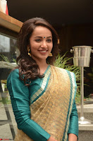 Tejaswi Madivada looks super cute in Saree at V care fund raising event COLORS ~  Exclusive 099.JPG