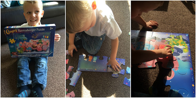 Clangers Jigsaw puzzle #Review