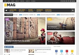 BMAG v2.1.1 - Magazine responsive premium blogger Templates
