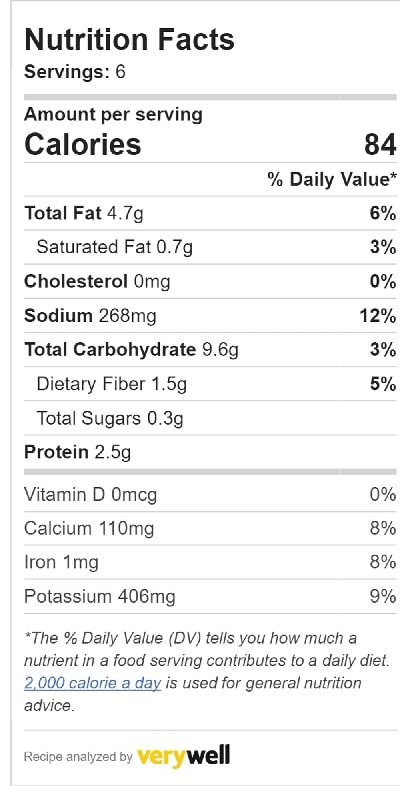 dehydrator kale chips nutrition info