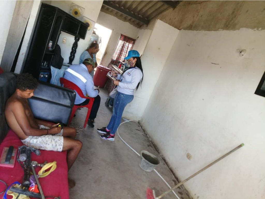 hoyennoticia.com, Instalan 302 redes domiciliarias subsidiadas de gas en Maicao