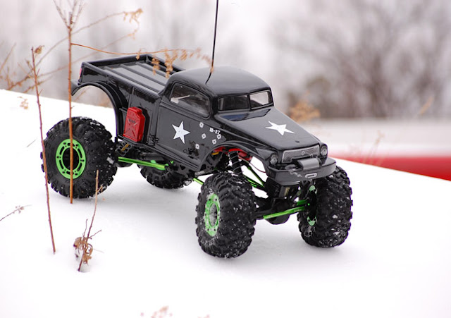 Axial AX10 Scorpion RC truck
