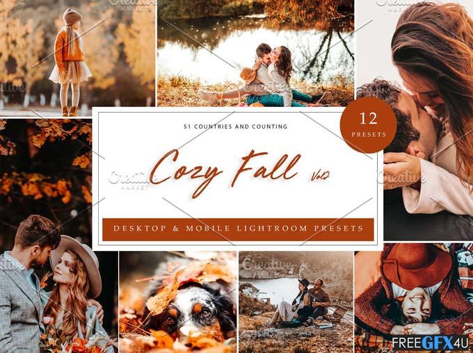 12 Lightroom Presets Cozy Fall Vol 2