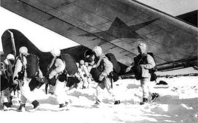 Soviet paratroopers are in action on 18 January 1942 worldwartwo.filminspector.com