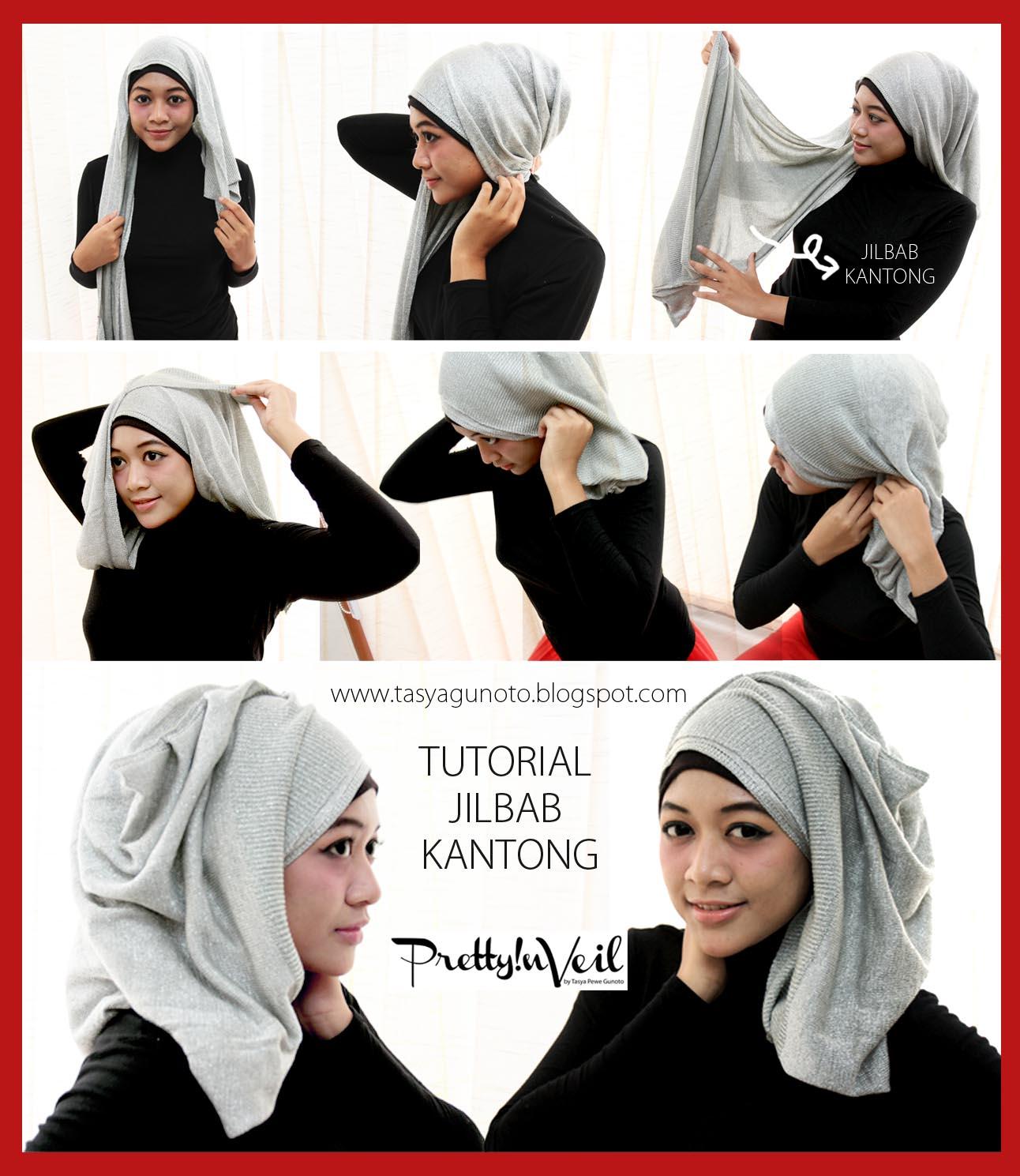 Tutorial Hijab Pesta Hijaber