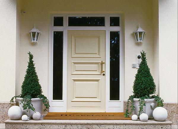 Hogares frescos 30 dise os inspiradores para la entrada - Puertas entrada principal ...
