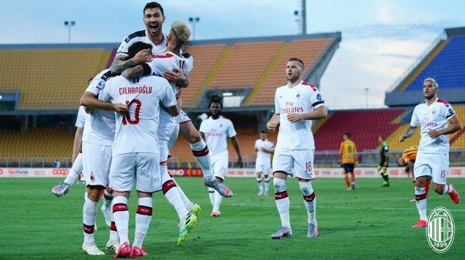 AC Milan vs AS Roma 2-0 Highlights
