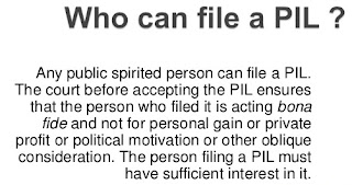 who can file pil