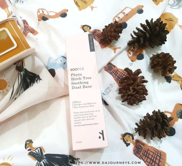 [Review] Soofee Phyto Birch Tree Soothing Dual Base