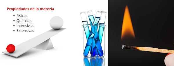 ▷  Propiedades físicas y químicas de la materia
