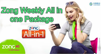 zong weekly all in one package