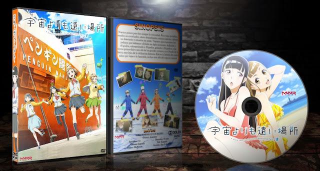 Sora Yori mo Tooi Basho | Cover DVD |