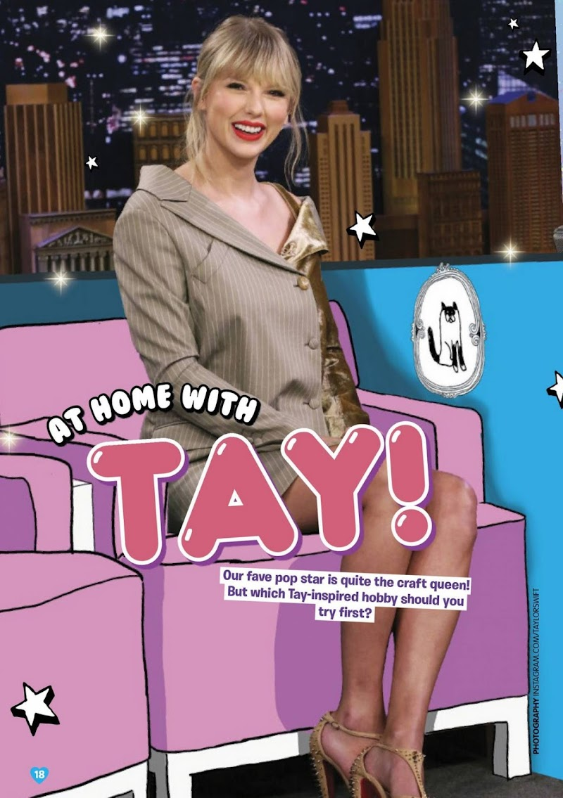 Taylor Swift  Featured Total Girl Magazine - June 2020