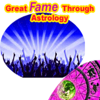 Great fame in horoscope, how to know the fame in life through astrology, Hurdles in getting fame, planets responsible for fame in life, what to do to get the great fame in life?